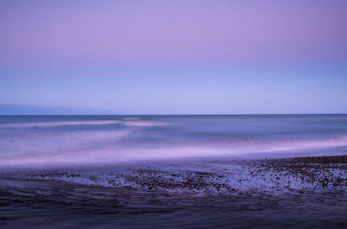 El mar morado.